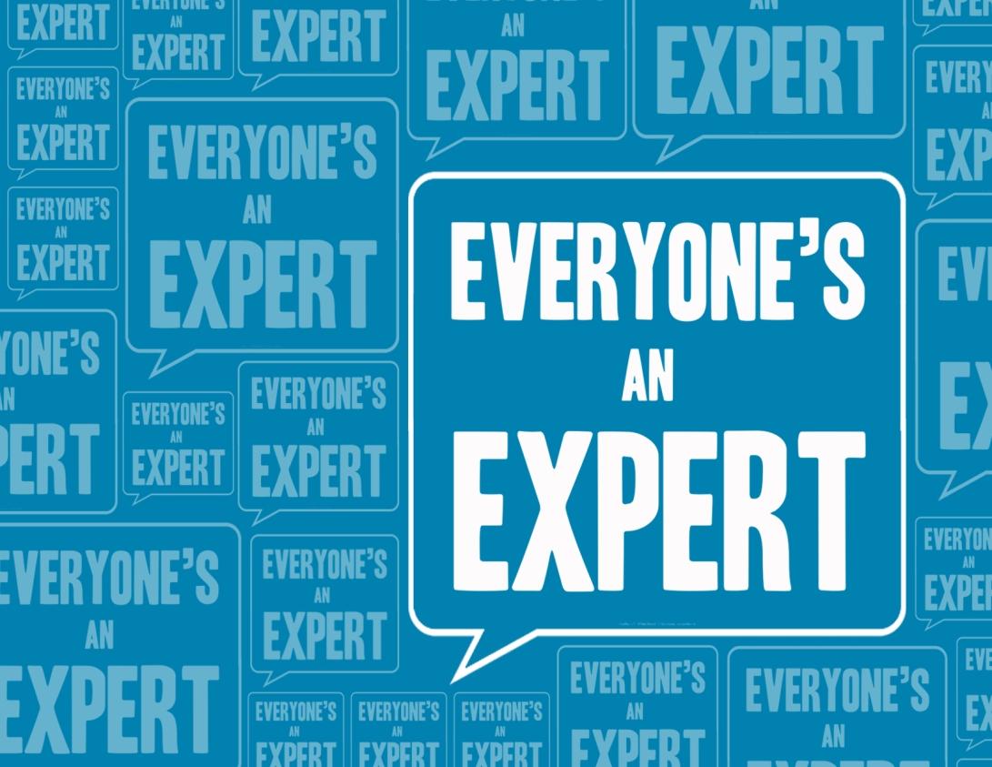 """""""Everyone's an Expert"""" Pitch Deck"""