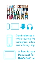 """""""Live From Havana"""" Pitch Deck Page (detail)"""