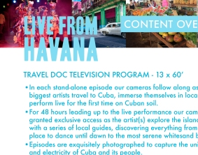 """""""Live From Havana"""" Deck Page (detail)"""