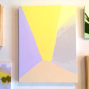 "Marine Layers, 2019. Acrylic on canvas, 18x24"""